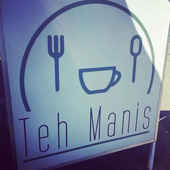 Teh Manis tanda