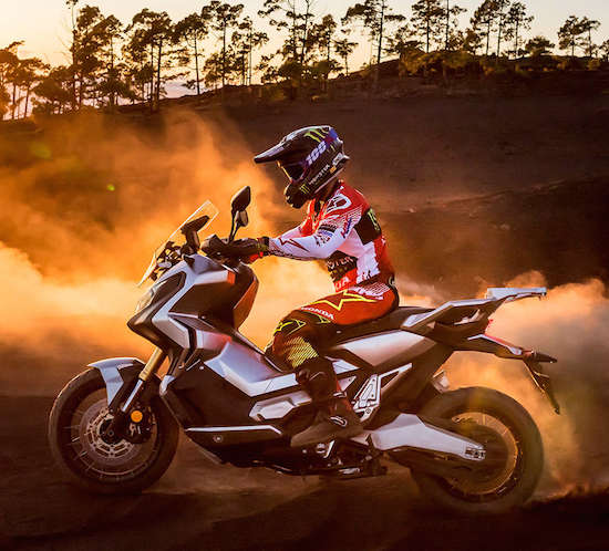 Honda X-Adv off road