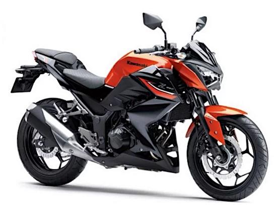 Kawasaki Z250 Orange