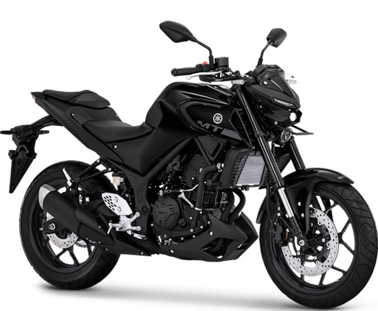 Yamaha MT-25 black