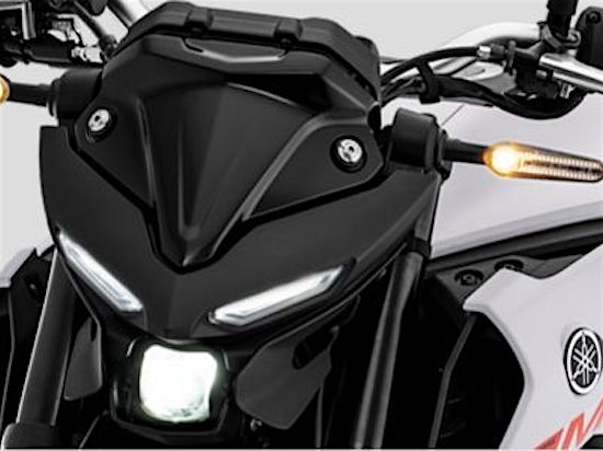Yamaha MT-25 headlamp