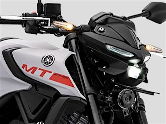 Yamaha MT-25 side view