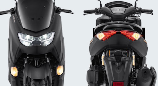 Yamaha Nmax front and rear
