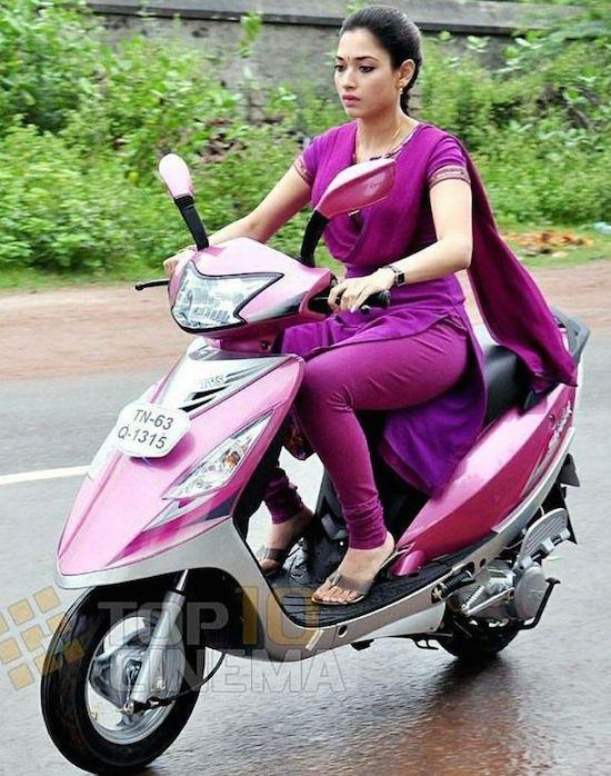 Skutik ban kecil India