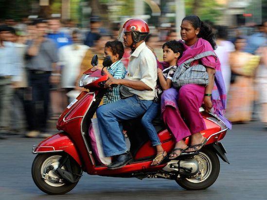 Skutik di India