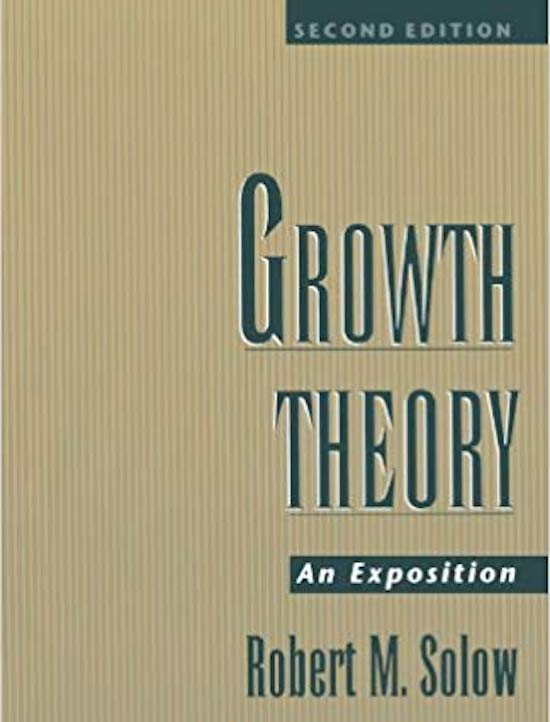 Growth Theory