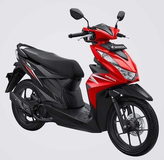 Honda Beat Red