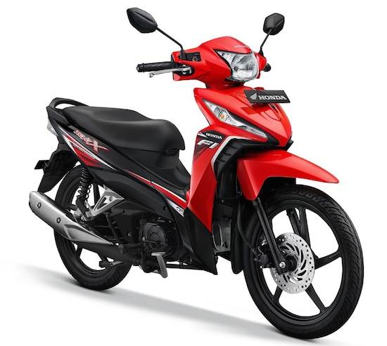 Honda Revo red