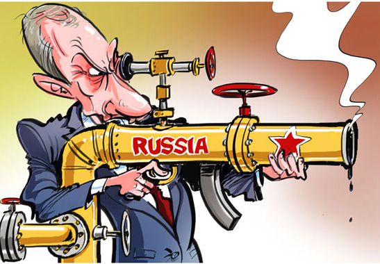 Russian Oil cartoon