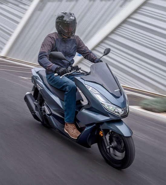 Honda New PCX front