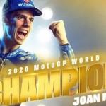 Apapun kontroversi yang terjadi di MotoGP,… Joan Mir jadi Juara Dunia MotoGP 2020… yeaaayyy …!!!