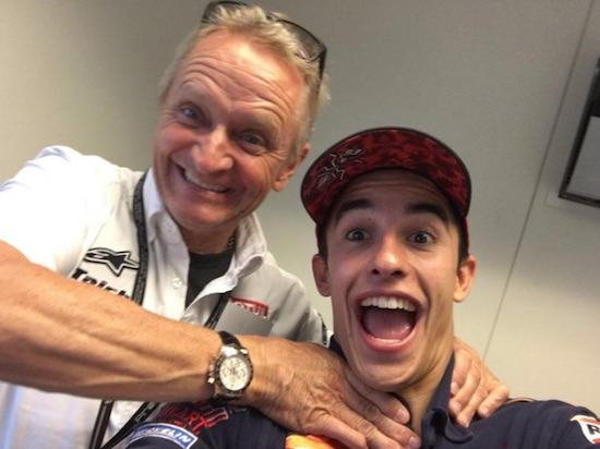 Schwantz with Marquez