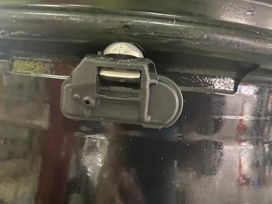 Sensor Pressure Tyre Mercedes Benz