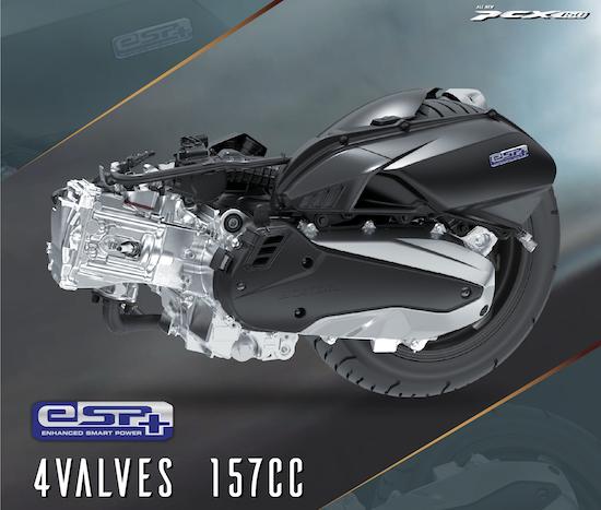 engine honda pcx 160