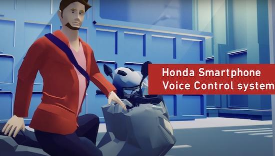 Honda Smartphone Control System