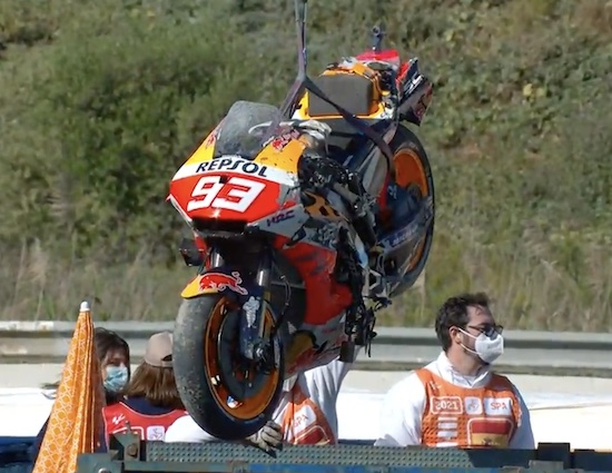 Motor Marquez ambroool