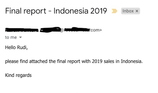 Report Motorcycles Data Indonesia