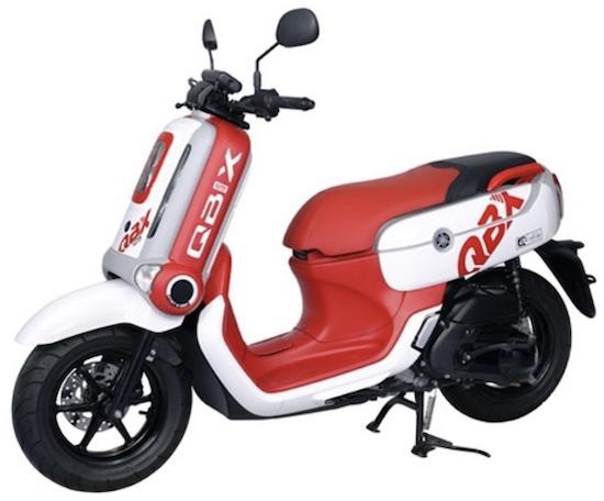 Yamaha QBIX red
