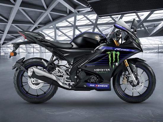 Yamaha R15 V4 monster energy