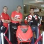 Wiiii seruuu,… Ducati Gathering at Bumbu Desa …!!!