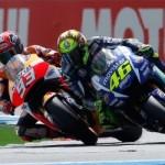 Lhaaa Honda RC213V kalah lageee,… Rossi juara di kampungnya Marquez …!!!