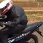 Duel drag race Honda Sonic 150R vs Suzuki Satria Fu-150,… lho kok Suzuki Satria FU-150 yang menaaang …???