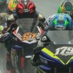 Race ke 2 Ajang Kejurnas IRS,… dalam keadaan dry race Yamaha R15 dan R25 … lap time nya eduuun …!!!