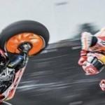 Marc Marquez ndlosoor dengan 26.4G,… untung Tech-air dari Alpinestars bekerja dengan baik …!!!